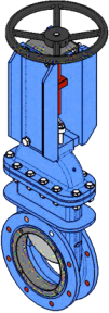 Series D Handwheel with non-rising stem