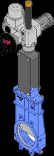Series FK Electric Motor Actuator