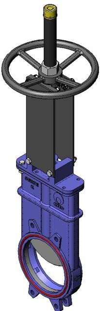Series K Uni-Directional Knife Gate Valve
