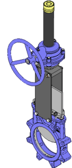 Series T Handwheel with Gear Box