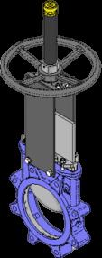 Series T Handwheel with Rising Stem